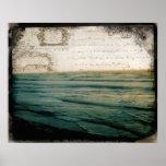 Romantic Voyage poster prints vintage ocean travel
