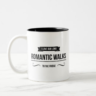 Romantic Walks Inspirational Mug