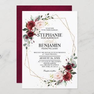Printable Purple Invitation Orchid Wedding Invitation Suite ORC19