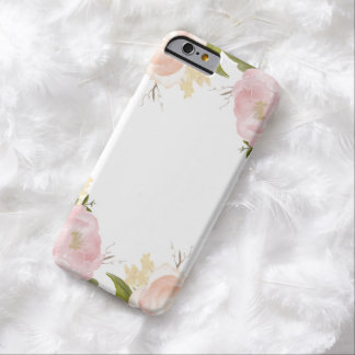 Romantic Watercolor Flowers iPhone 6 Case