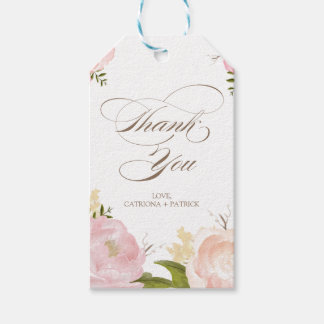 Thank You Tags Gifts on Zazzle
