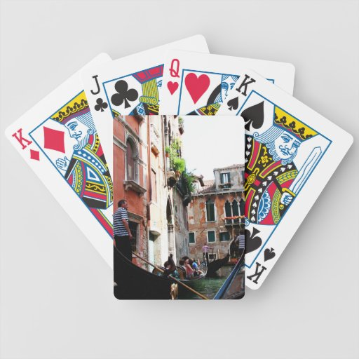 Romantic Waters Bicycle Playing Cards