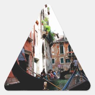 Romantic Waters Triangle Sticker