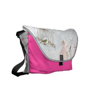 romantic wedding bag pink