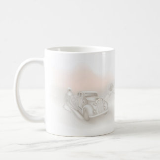 Romantic Wedding Basic White Mug