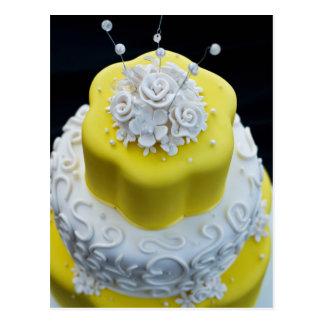 Romantic Wedding Cake Post Cards