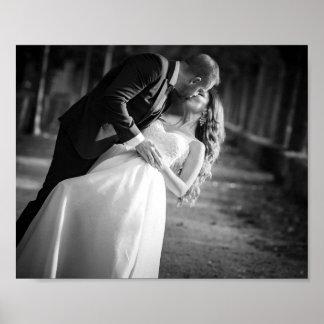 Romantic Wedding Day Poster