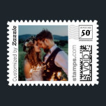 "Romantic Wedding Photo PhotoStamp by Stamps.com<br><div class=""desc"">Create your own custom wedding postage! Add your favorite wedding photo to create these one-of-a-kind postage stamps. Personalize by adding a custom message. Great for save the date invites and thank you cards!</div>"