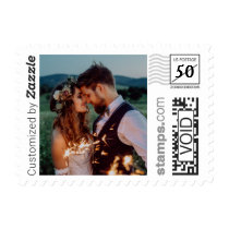 Romantic Wedding Photo PhotoStamp by Stamps.com