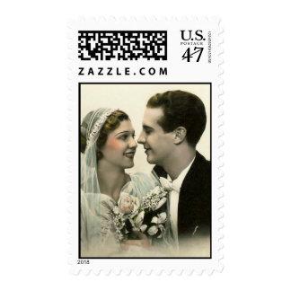 Romantic Wedding Postage