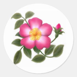 Romantic Wild Rose Stickers