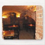 Romantic Wine Cellar Mouse Pad