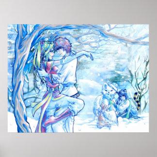 Romantic Winter Poster