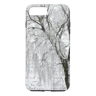 Romantic Winter Willow iPhone 7 Plus Case
