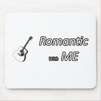 Romantic with me.png mouse pad