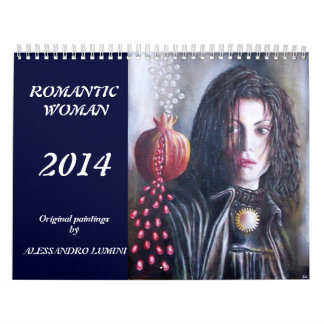 ROMANTIC WOMAN 2014 CALENDAR