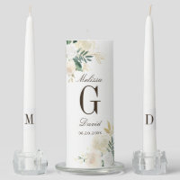 Romantic Woodland Wedding Unity Candle