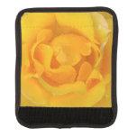 Romantic Yellow Rose Water Drops Handle Wrap