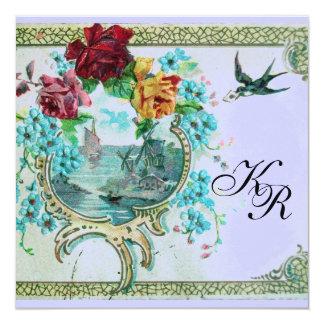 ROMANTİCA 3 MONOGRAM CARD