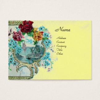 ROMANTICA 3.yellow Business Card