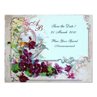 ROMANTICA  4 MONOGRAM 2 ,Blue Card