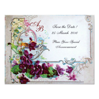 ROMANTICA  4 MONOGRAM 2 CARD