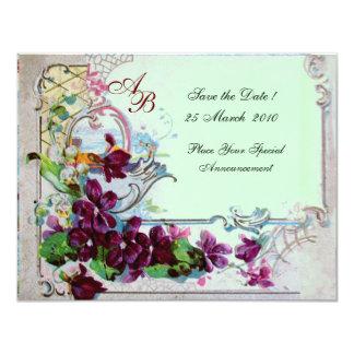 ROMANTICA  4 MONOGRAM 2 CARD