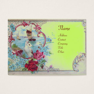 ROMANTICA MONOGRAM 2 BUSINESS CARD
