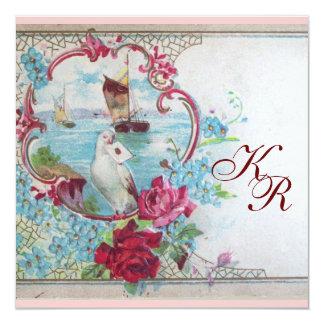 ROMANTİCA  MONOGRAM CARD