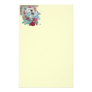 ROMANTİCA ,pink red blue cream Stationery