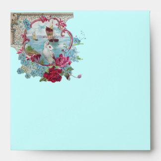 ROMANTICA  pink red blue Envelope