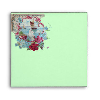 ROMANTICA  pink red blue green Envelope