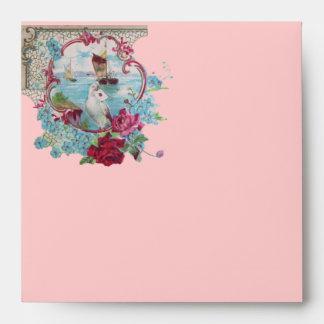 ROMANTICA  pink red blue white Envelope