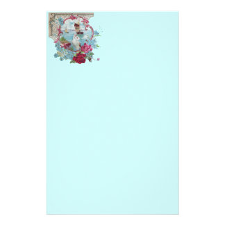 ROMANTİCA ,pink red blue white Stationery