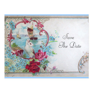 ROMANTICA SAVE THE DATE  Invitation postcard