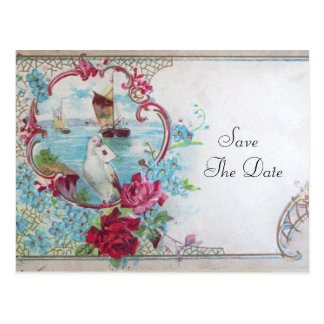 ROMANTICA SAVE THE DATE POSTCARD