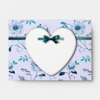 RomanticCharm vintage floral wedding collection Envelope
