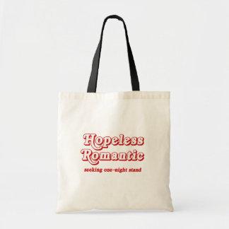 Romántico desesperado bolsa tela barata
