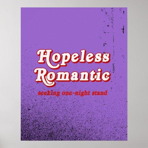 Romántico desesperado posters