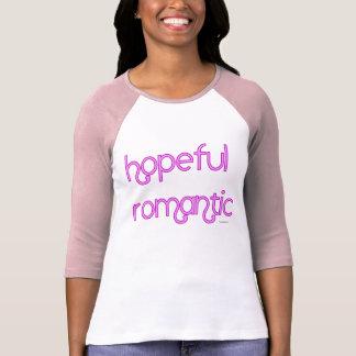 Romántico esperanzado camisetas