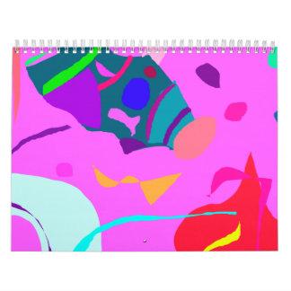Romántico unidireccional de la imagen de la calendario