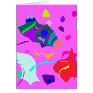 Romántico unidireccional de la imagen de la tranqu tarjeta de felicitación