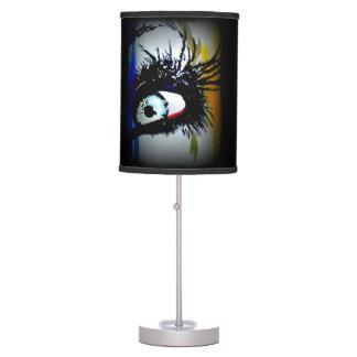 'Romantics' on a table lamp