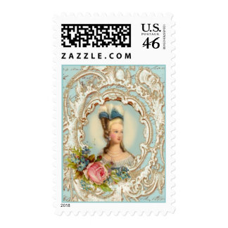 Romantique Postage Stamp