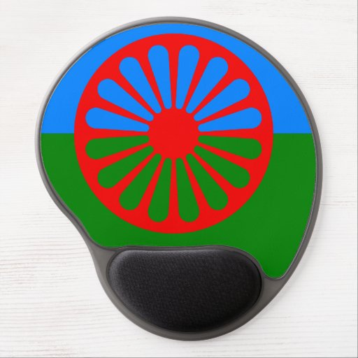 Romany Gypsy flag Gel Mouse Pad