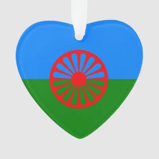 Romany Gypsy flag Ornament