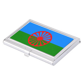 Romany Gypsy flag Business Card Holders