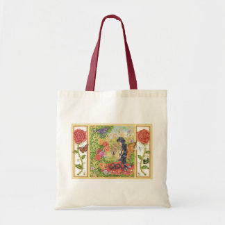 'Romany Rose Special Collection' Budget Tote Bag