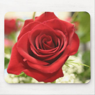 Romatic Red Rose Mouse Pad
