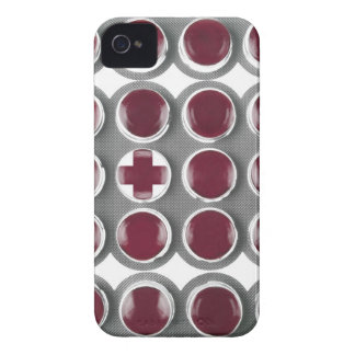 Rombos de la garganta Case-Mate iPhone 4 protector